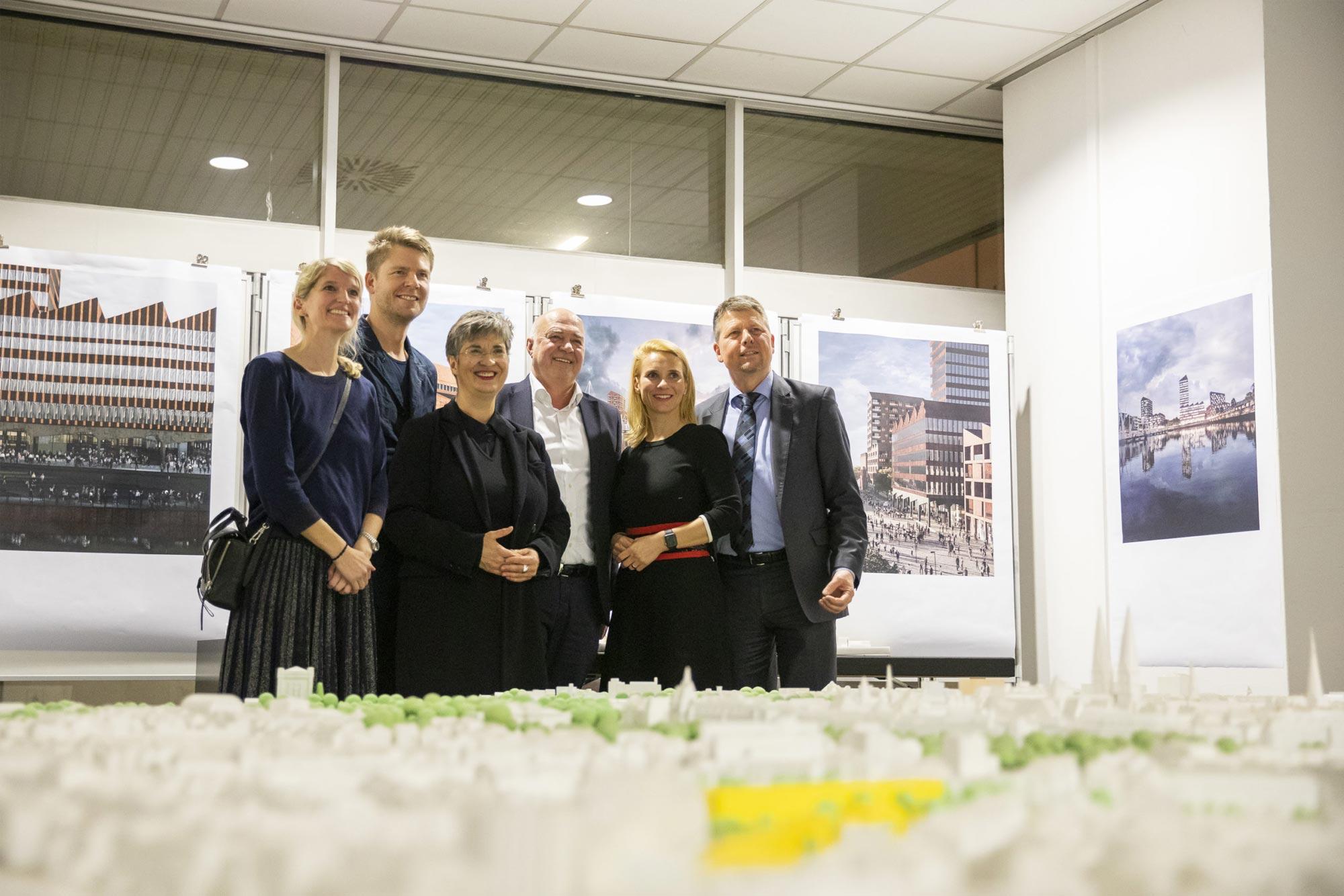 Europahafenkopf Bremen Presse Ausstellung