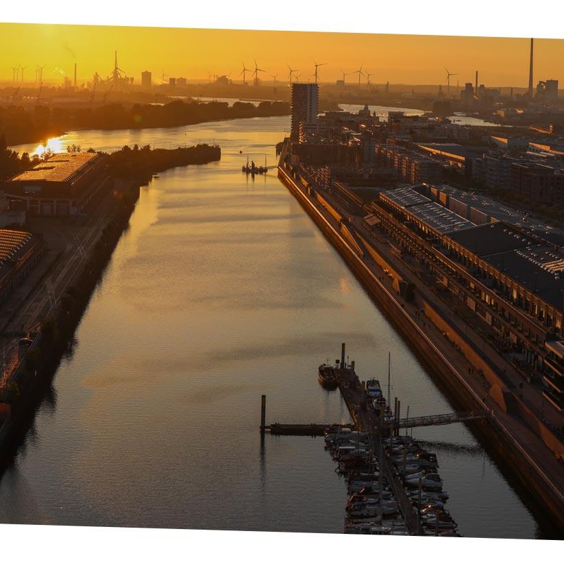 Europahafenkopf Bremen urbane Überseestadt