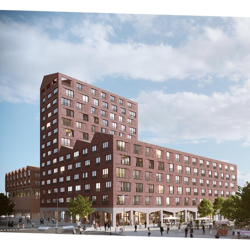 Europahafenkopf Bremen Mietwohnungen Lofthaus